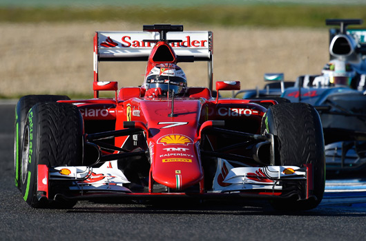 Kimi Raikkonen, Ferrari SF15-T, Jerez