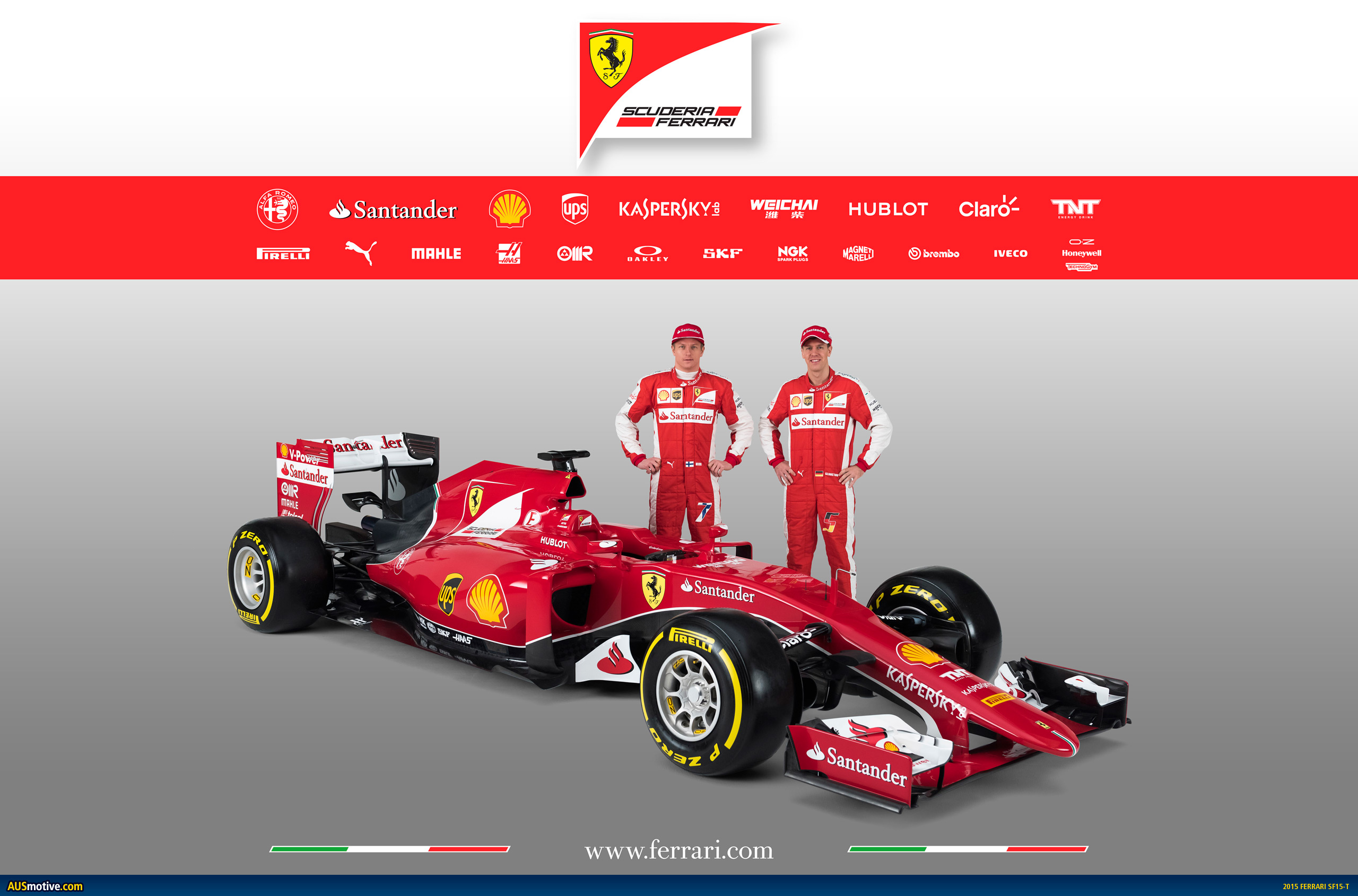 Ferrari Formula  Car Verticale