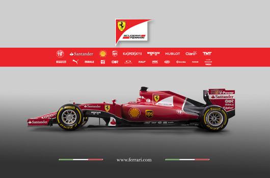 2015 Ferrari SF15-T