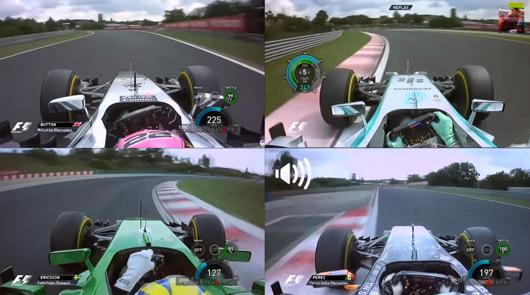 2014 Hunagrian Grand Prix qualifying
