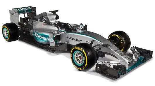 2015 Mercedes AMG Petronas F1 W06