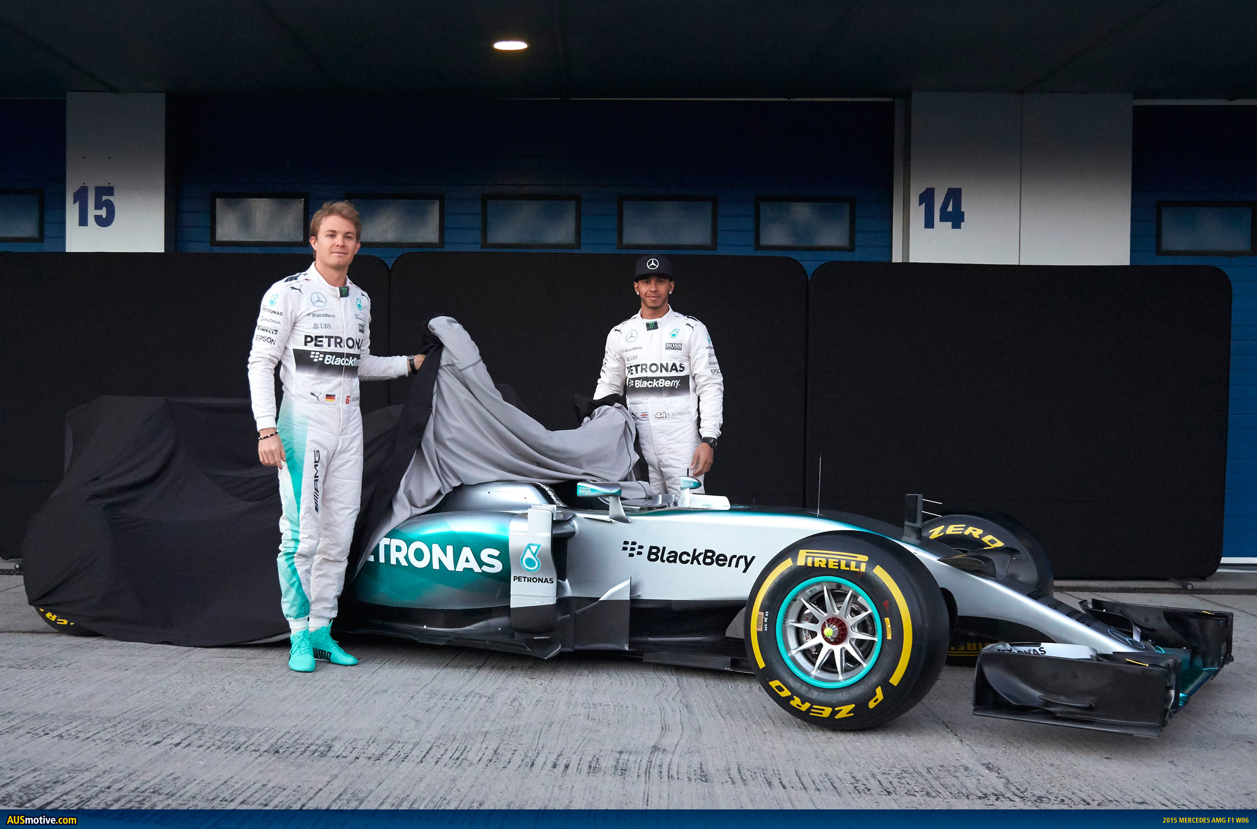 Ausmotive Com 2015 Mercedes Amg F1 W06 Revealed