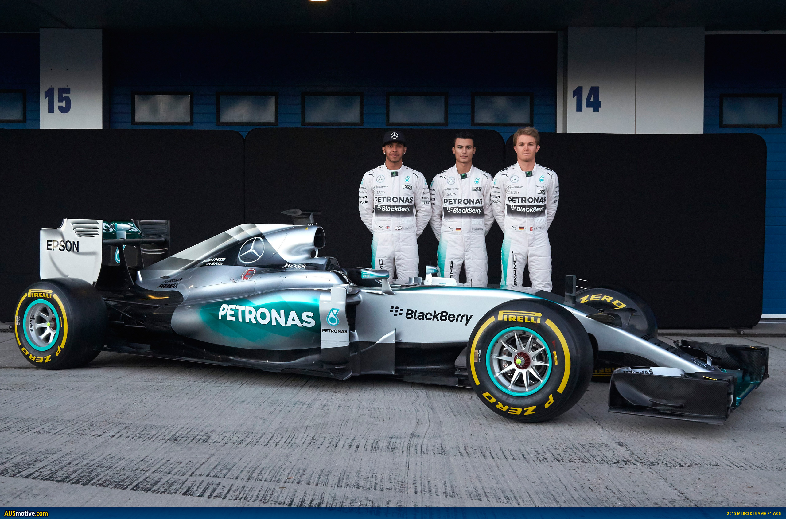 AUSmotive.com » 2015 Mercedes AMG F1 W06 revealed