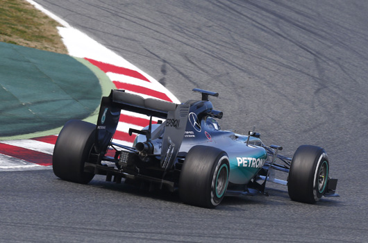 Nico Rosberg, Mercedes AMG W06