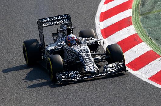 Daniel Ricciardo, Red Bull RB11, Barcelona