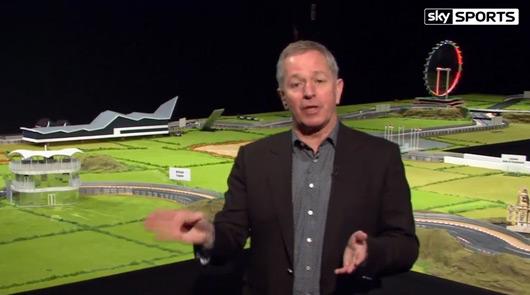 Martin Brundle, Sky Sports F1