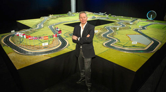 Martin Brundle, Scalextric ultimate F1 track