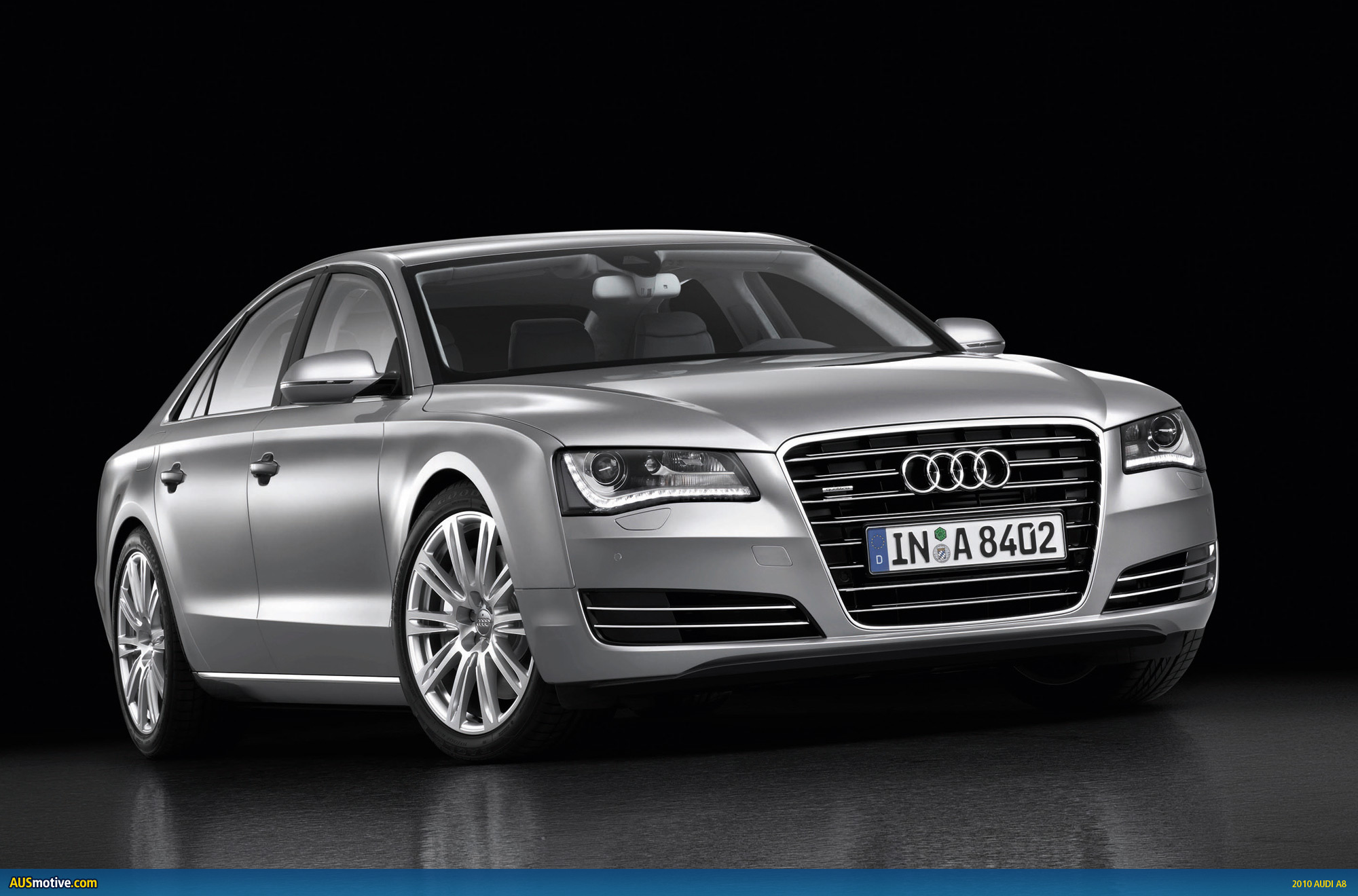 2010 audi a8 photo gallery. Black Bedroom Furniture Sets. Home Design Ideas