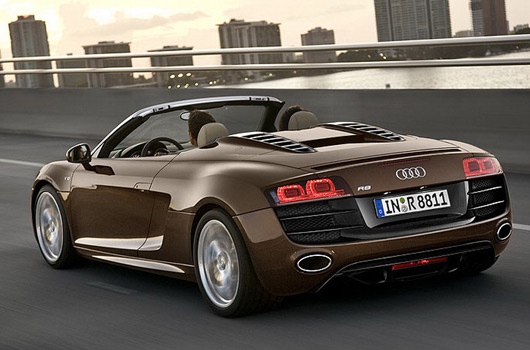 Audi R8 V10 Spider