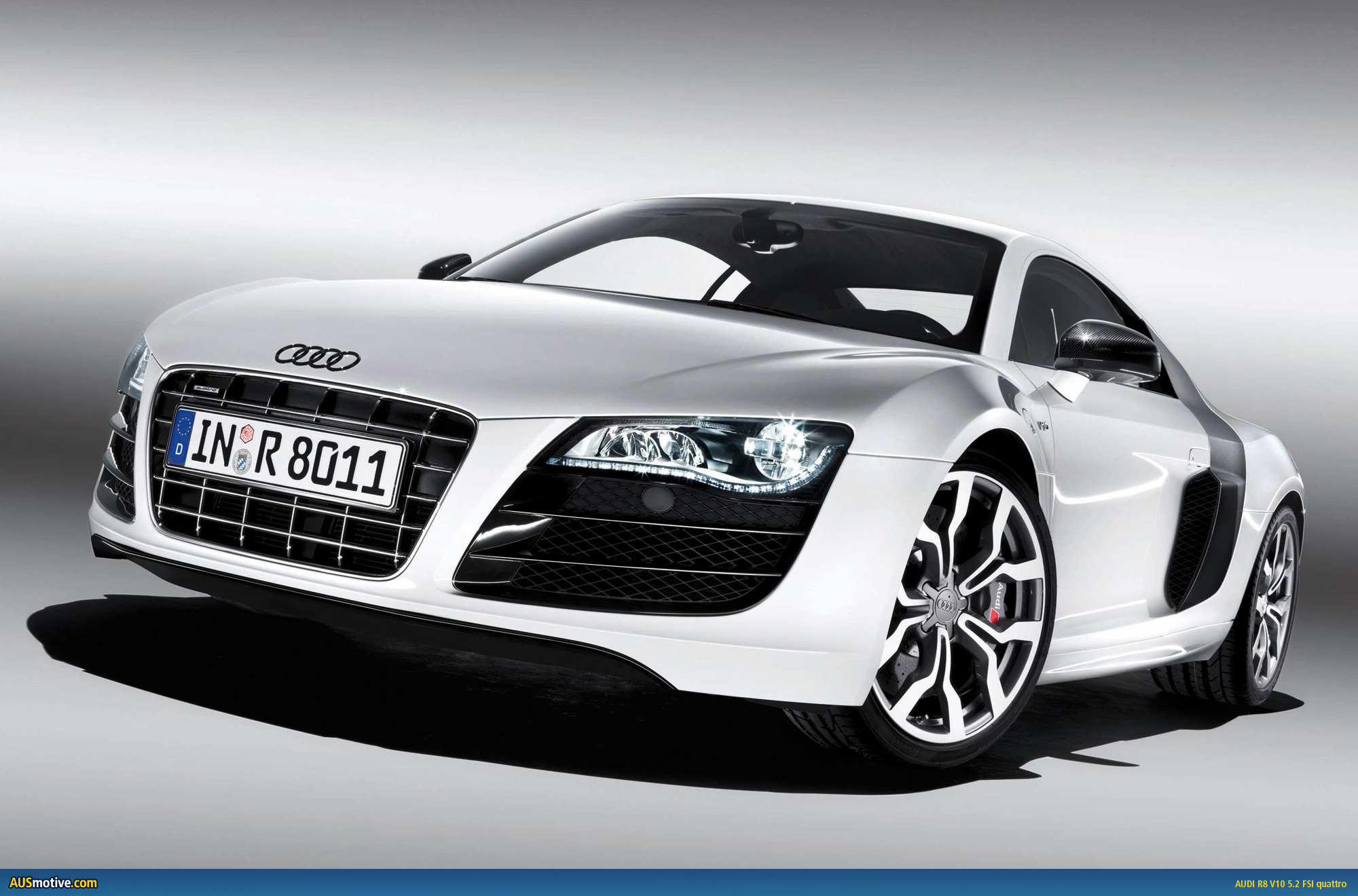 Finally, the R8 has the