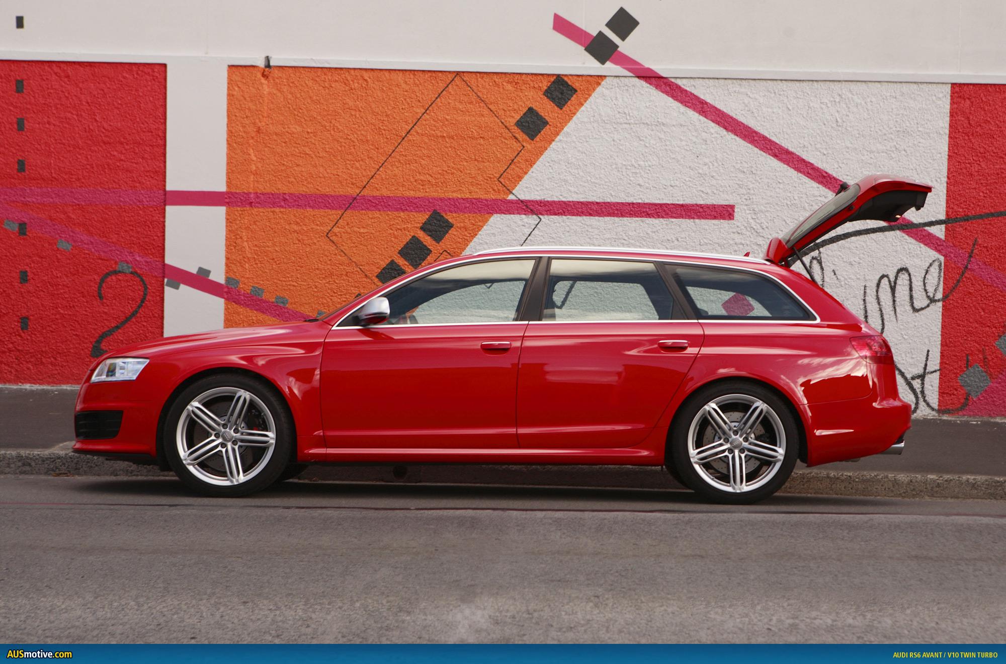Audi's bahnstorming RS6 Avant