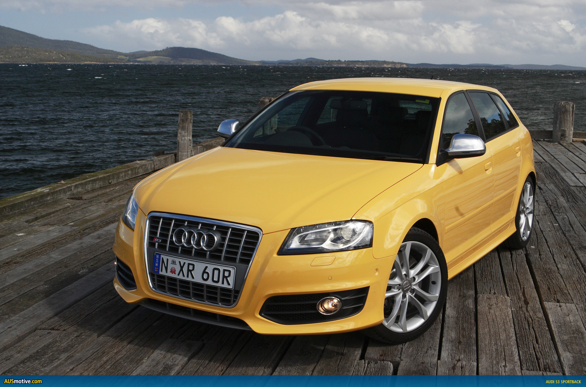 audi s3 sportback docks down under. Black Bedroom Furniture Sets. Home Design Ideas