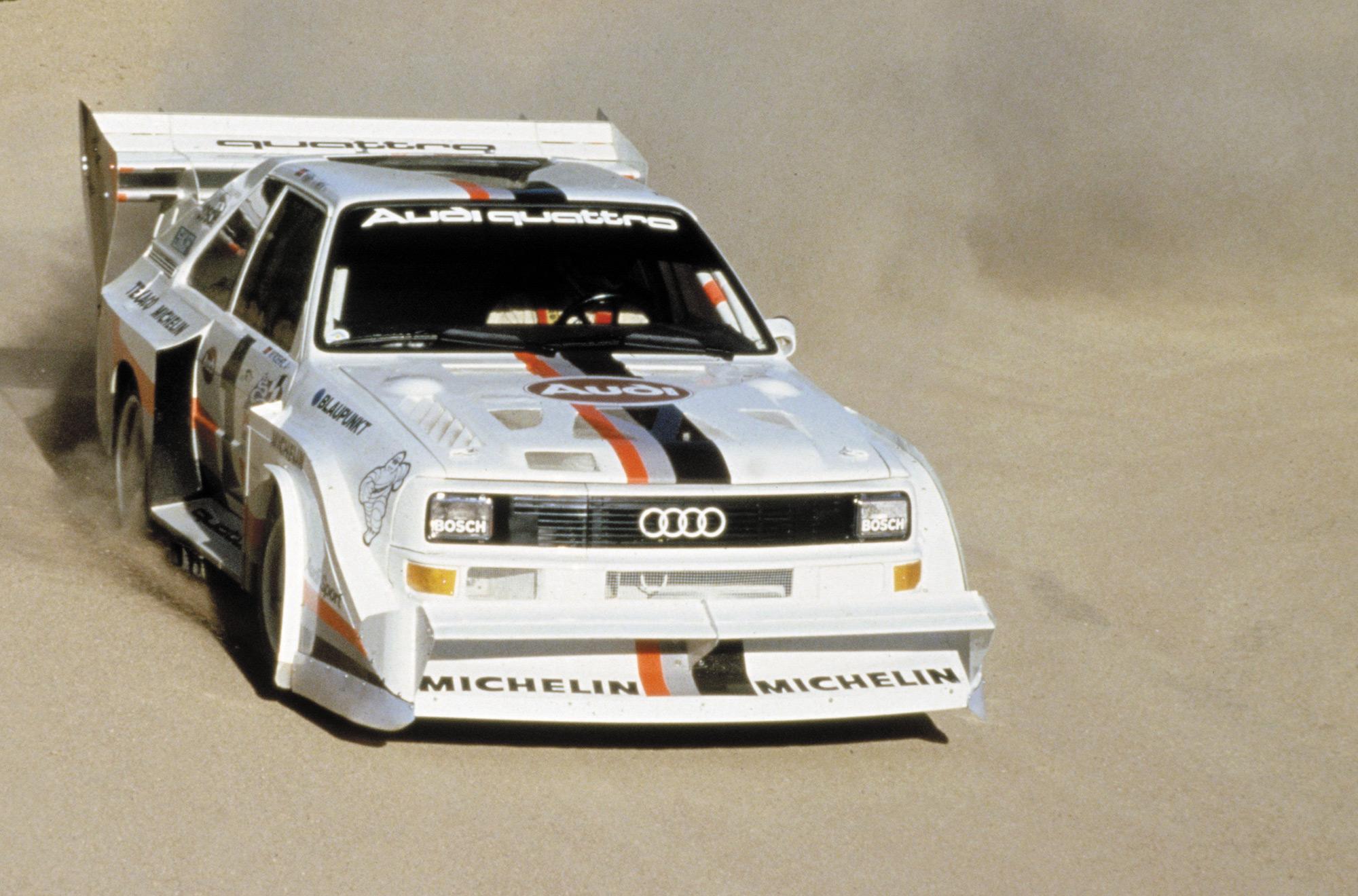 AUSmotivecom  Past master Audi UrQuattro