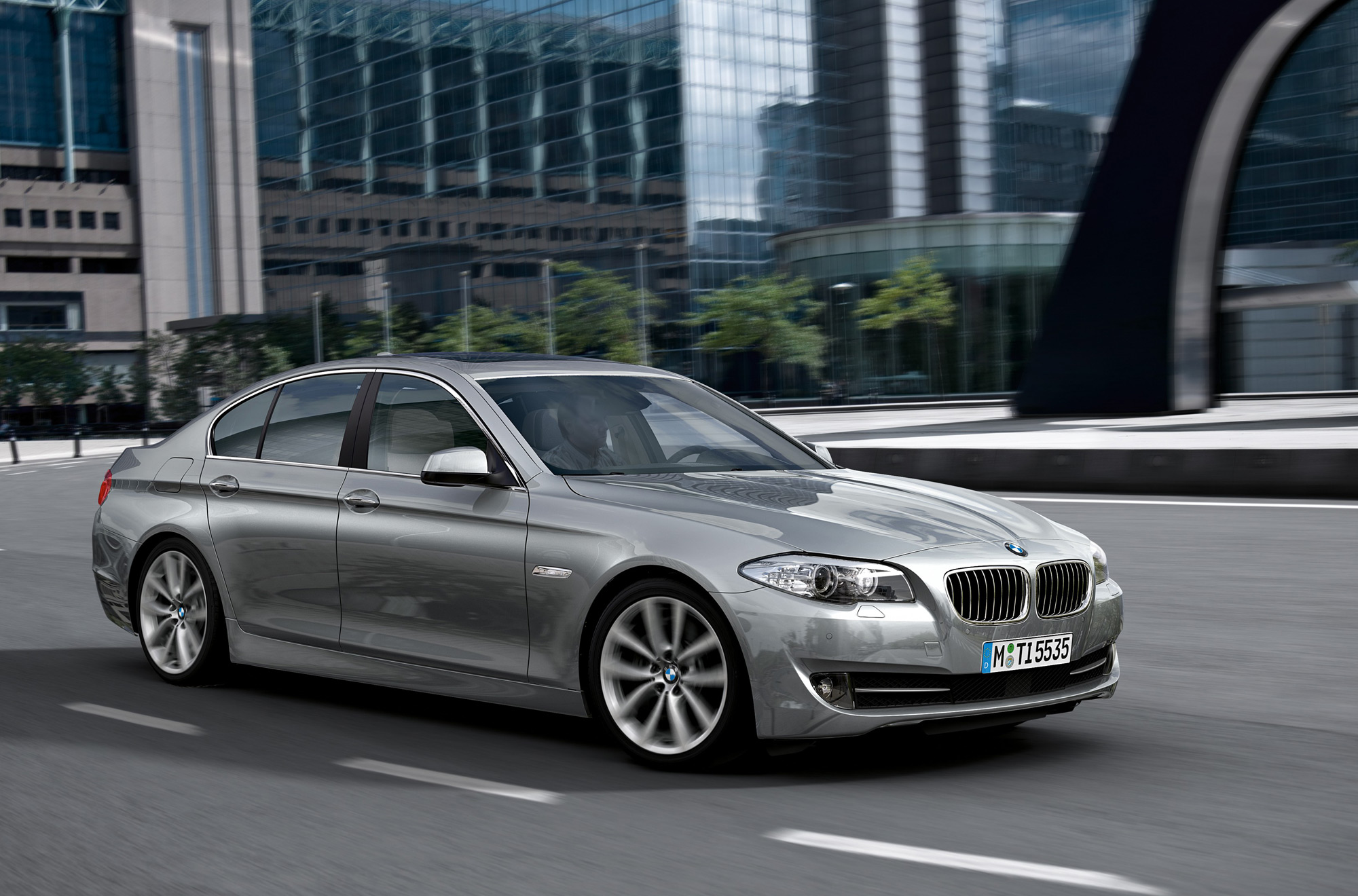 Delightful BMW 5 Series Sedan
