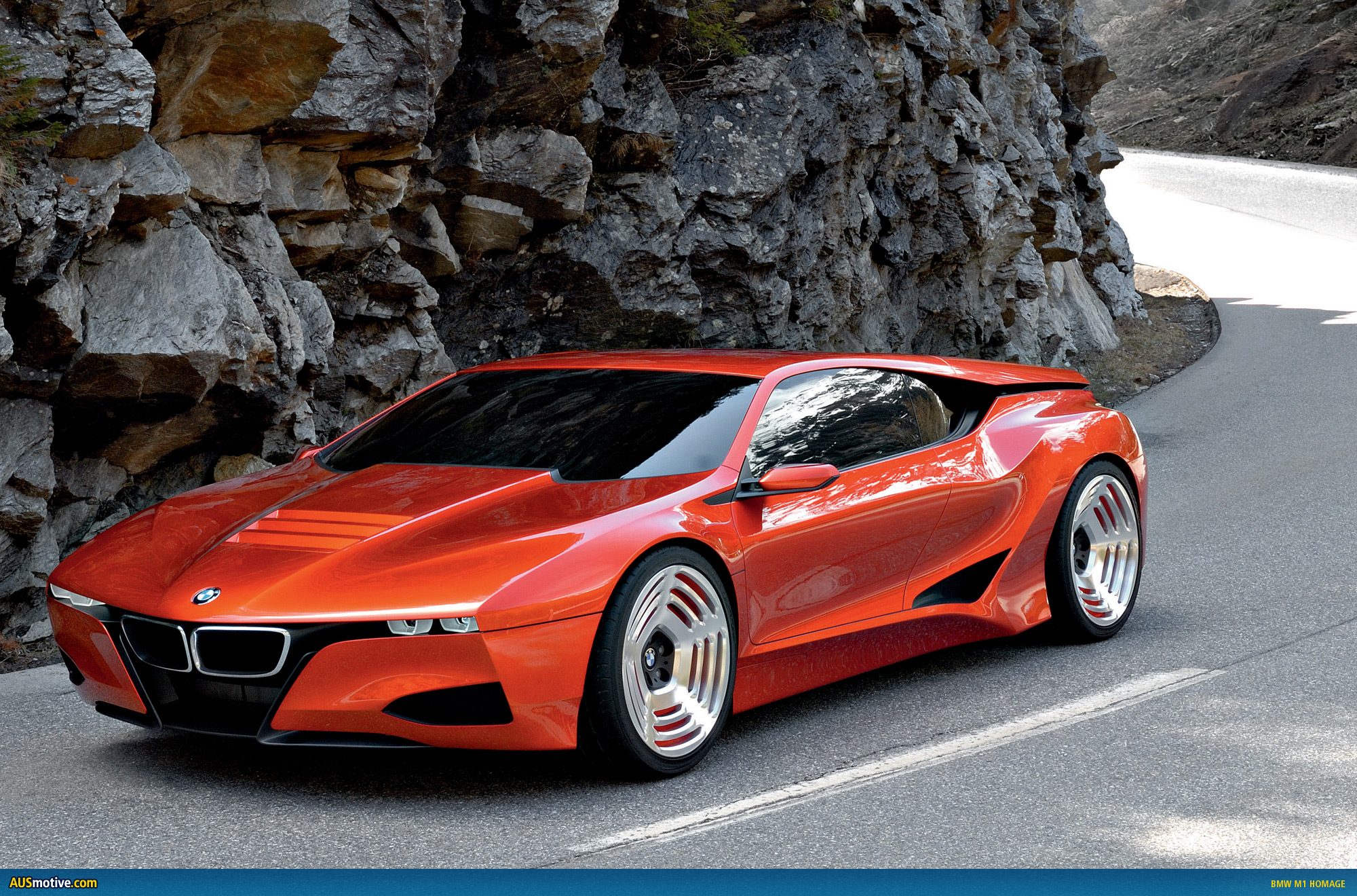 BMW M1 Hommage Concept Cars