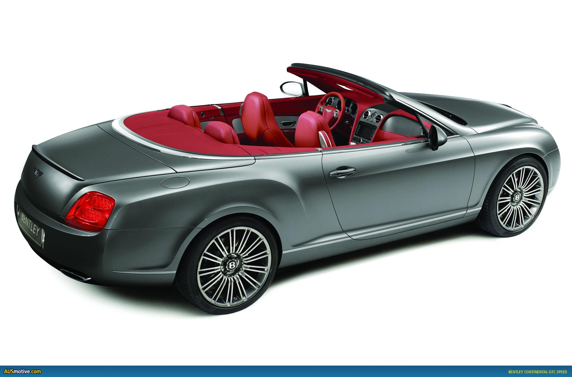 Ausmotive Com 187 Bentley Continental Gtc Speed