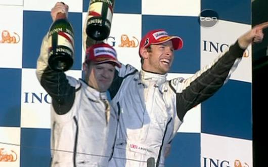 Jenson Button wins 2009 Australian Grand Prix