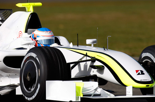 Brawn GP car debuts at Silverstone on Friday