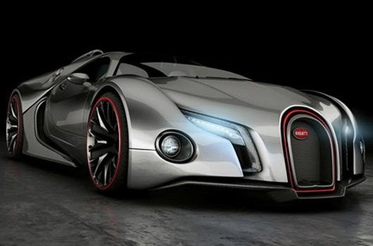 Bugatti Veyron Going Back To The Future Art Promo: AUSmotive.com » Holy Outlandish Veyron Rendering Batman