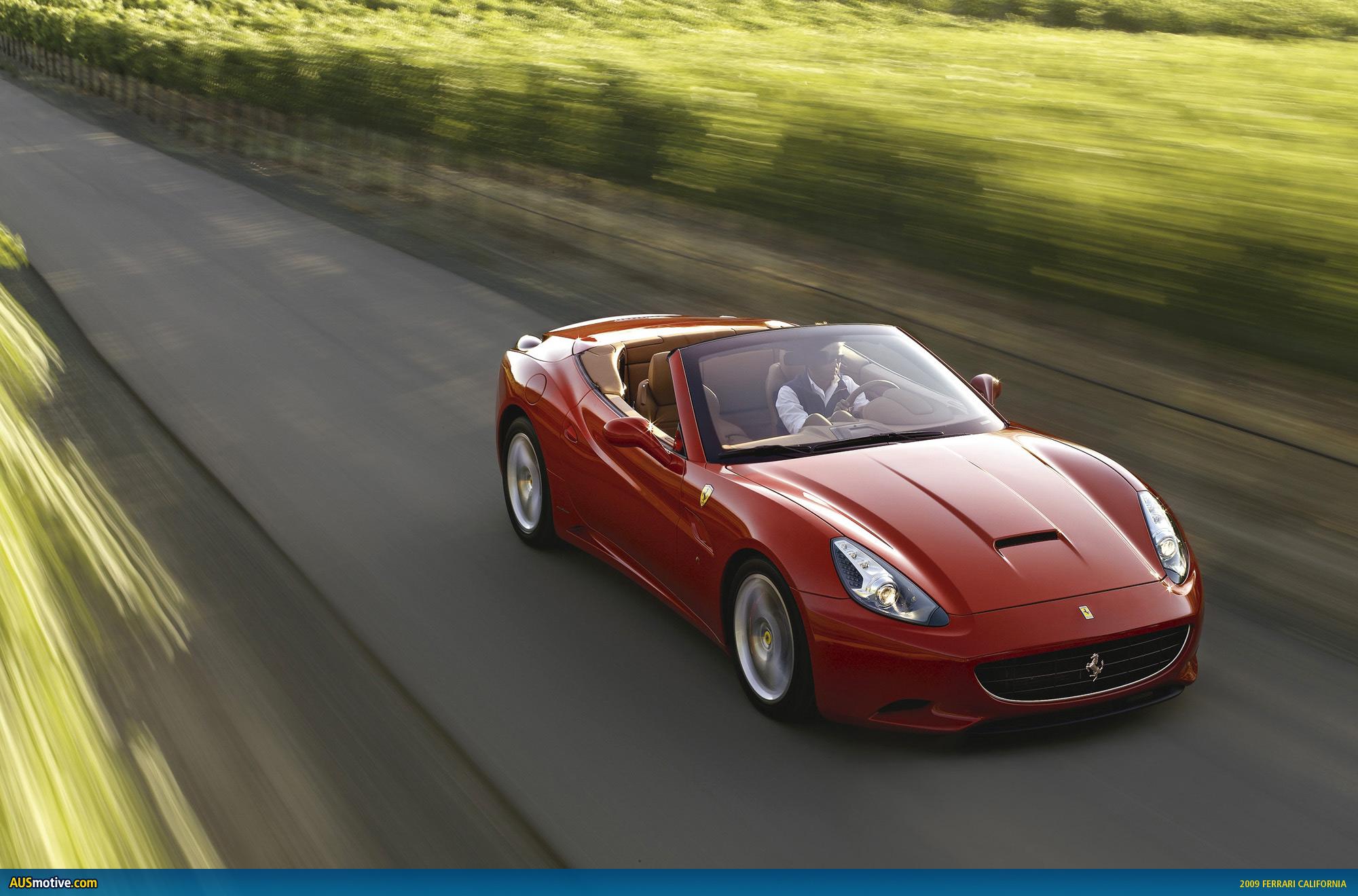 the Ferrari California has