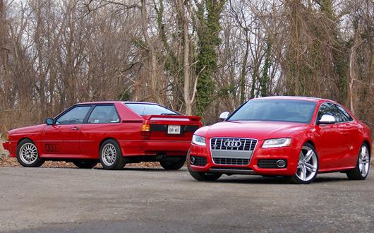 Fourtitude Audi S5 v Ur-Quattro