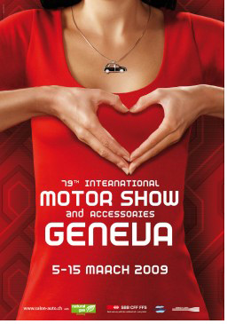 Geneva Motor Show, 5-15 March 2009