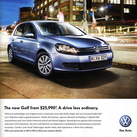 Mk6 Golf - Australian pricing