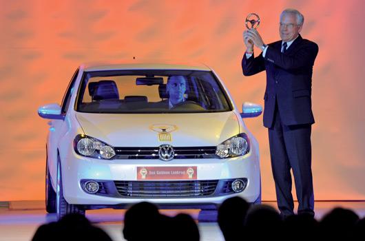 Golf VI wins Golden Steering Wheel Award