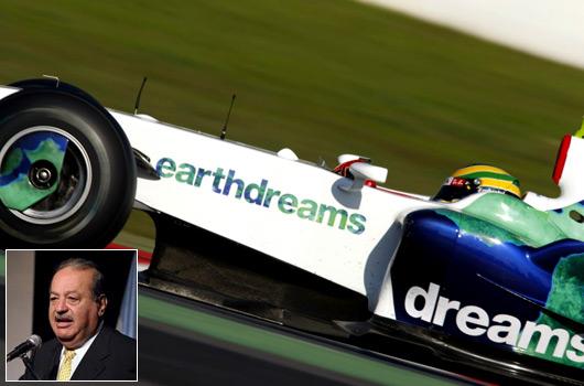 Honda F1 saved by Carlos Slim Helu