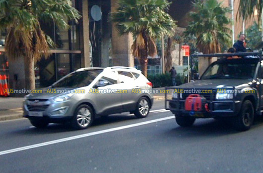 Hyundai ix35 spotted on Sydney's streets