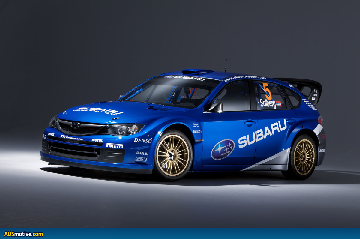 all new impreza wrc car to debut in greece. Black Bedroom Furniture Sets. Home Design Ideas