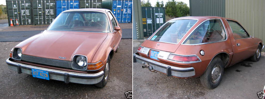 Click here to buy Jonny Smith's AMC Pacer