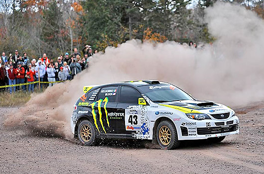 Ken Block in action