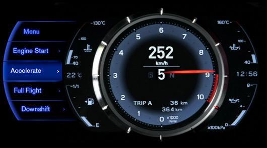 Lexus LFA website