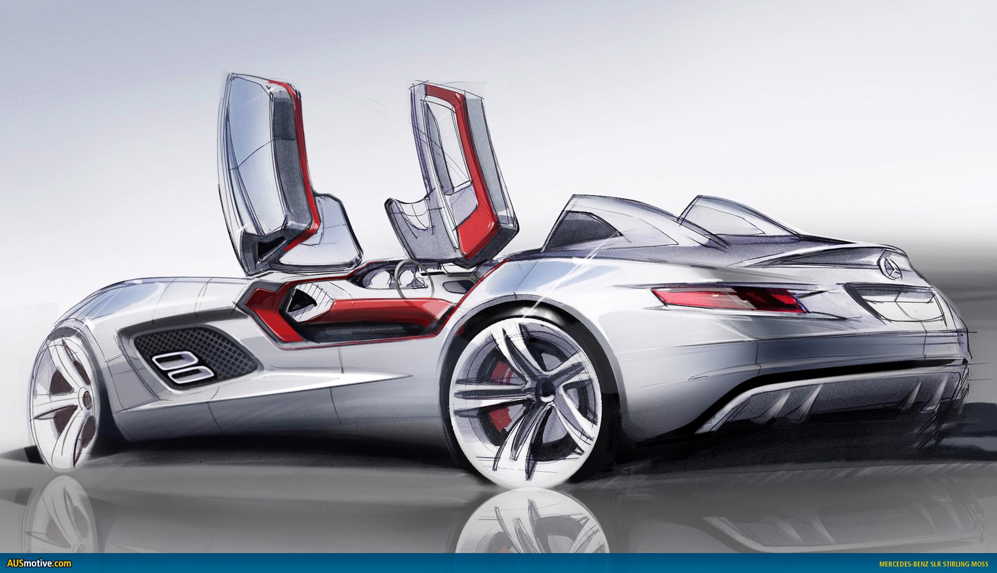 AUSmotive.com » Mercedes-Benz SLR Stirling Moss