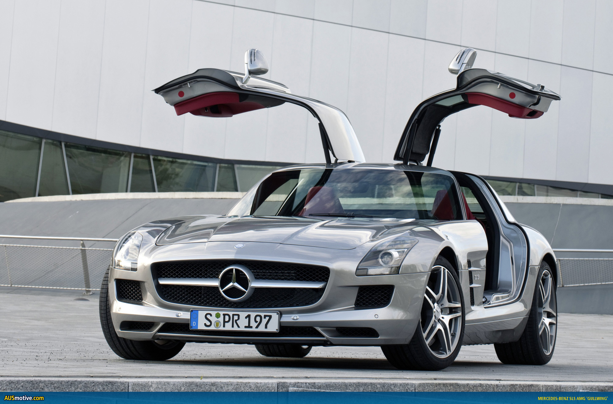 Gullwing set to land under $500K & AUSmotive.com » Gullwing set to land under $500K