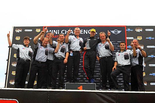 Neil McFadyen - 2008 MINI CHALLENGE champion