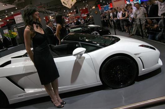 Lamborghini at the Melbourne International Motor Show 2009