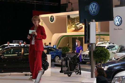 Volkswagen at the Melbourne International Motor Show 2009