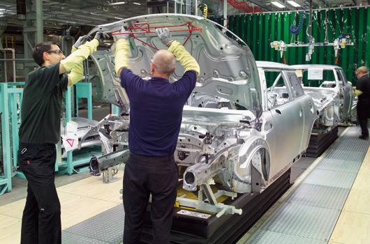 MINI production at Plant Oxford