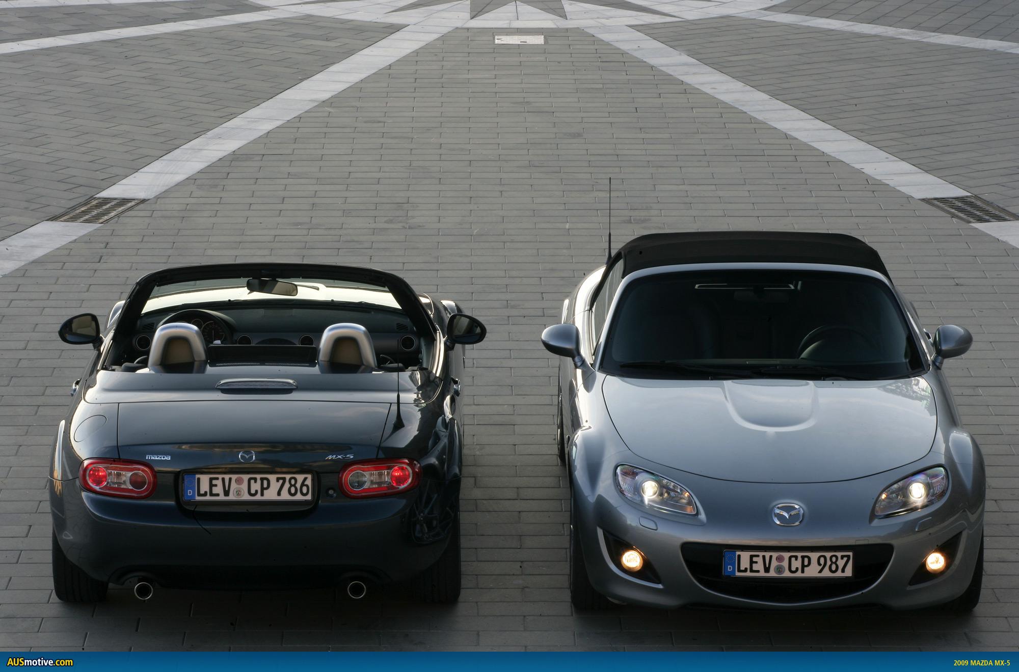 Happy 20th Birthday Mazda MX-5!