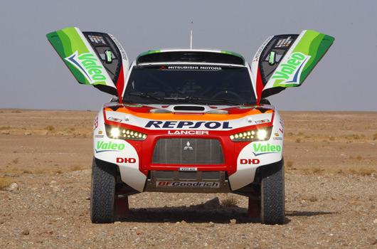 Mitsubishi Lancer Dakar09