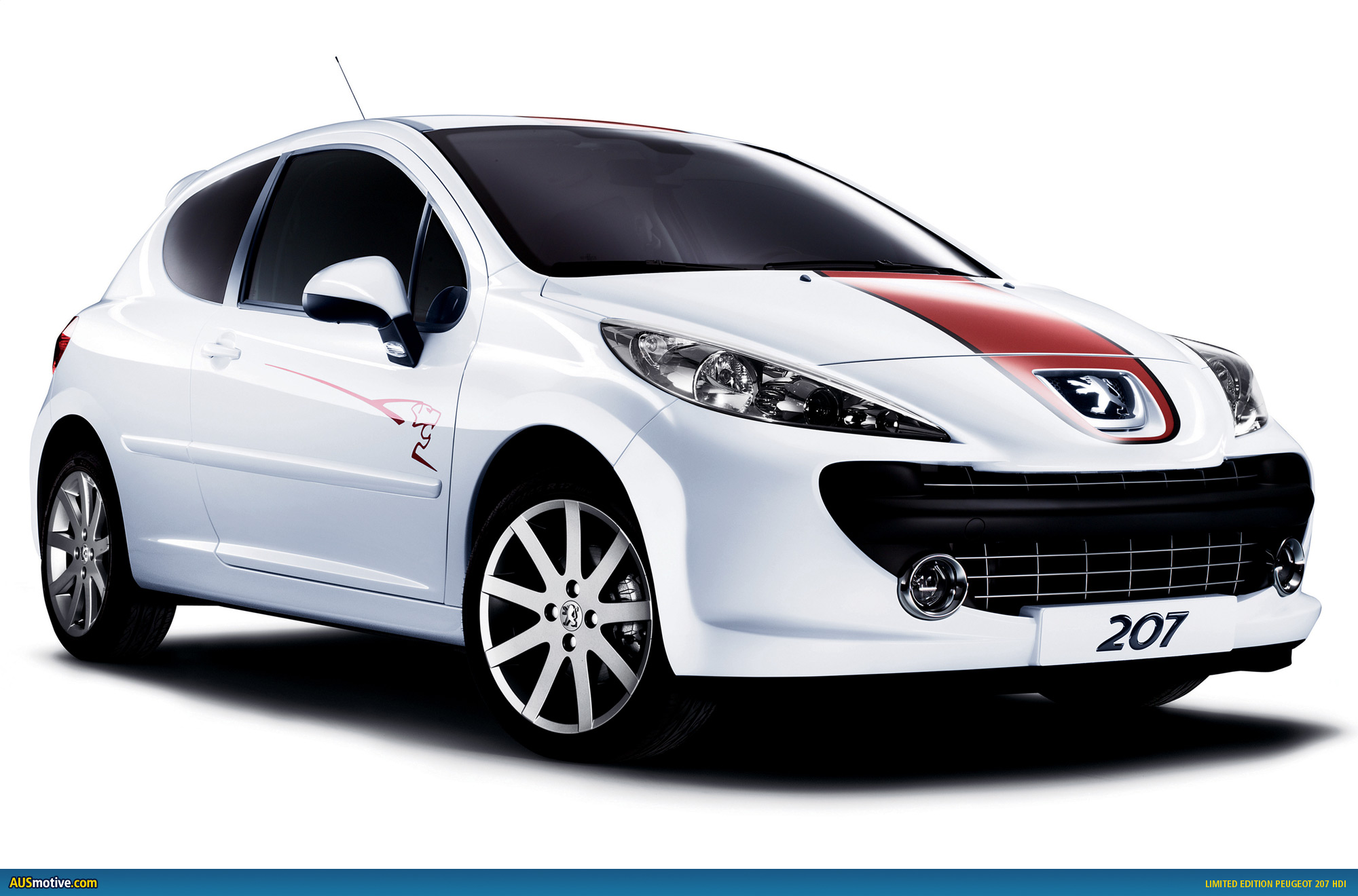 limited edition peugeot 207 hdi le mans series