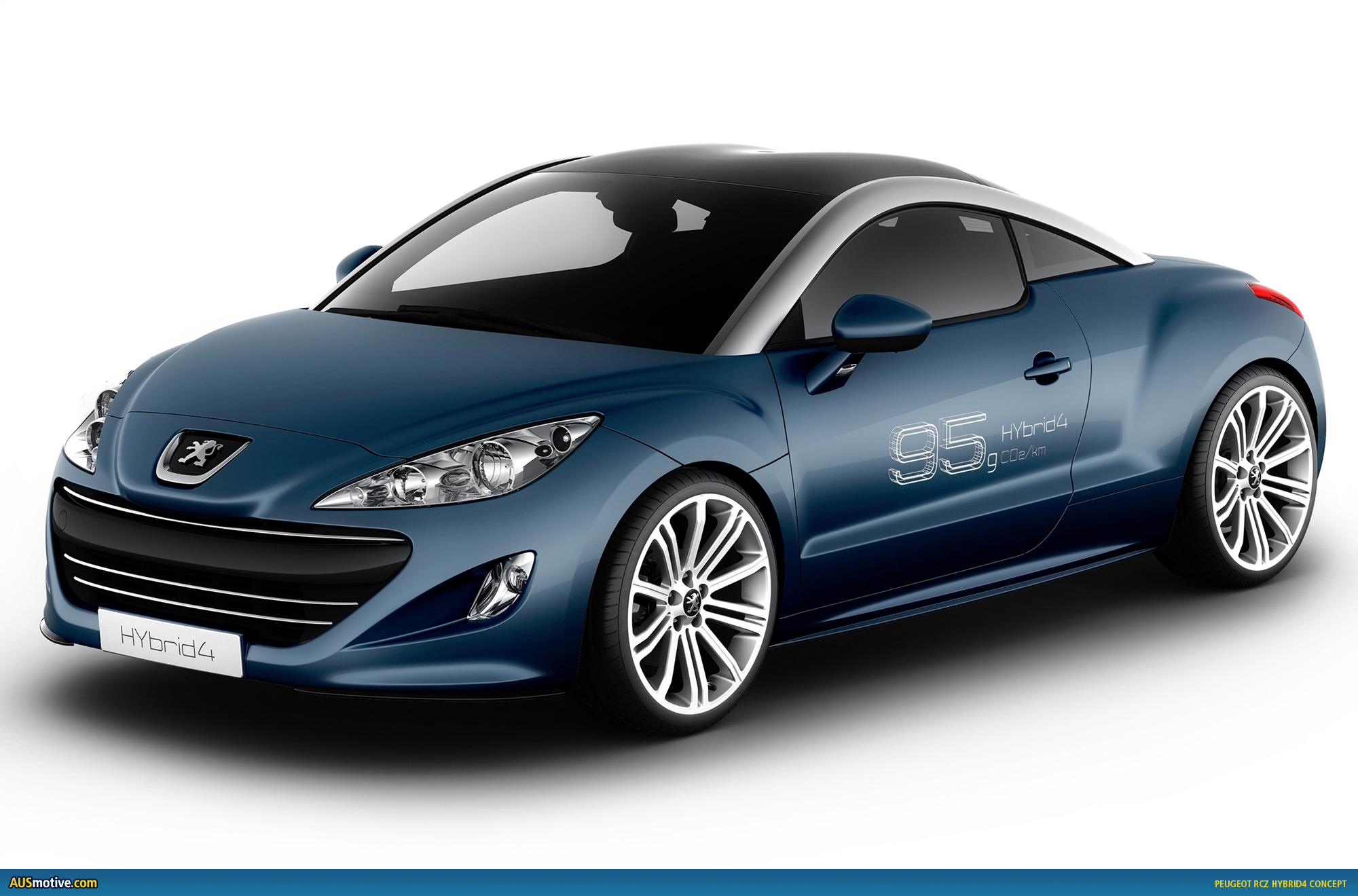 Want a piece of the green market too with this rcz hybrid4 concept