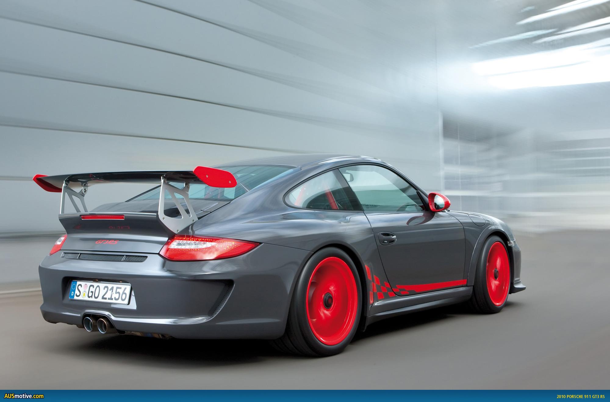AUSmotivecom » 2010 Porsche 911 GT3 RS