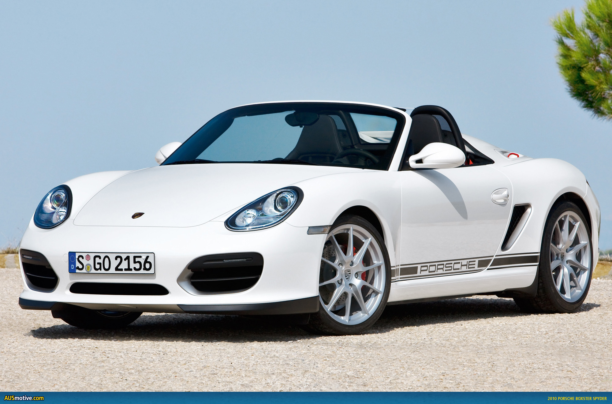sneak peek 2010 porsche boxster spyder. Black Bedroom Furniture Sets. Home Design Ideas