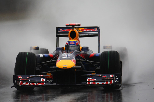 Mark Wbber in Qualifying at 2009 Brazilian Grand Prix