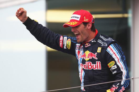 Mark Webber wins 2009 F1 German Grand Prix