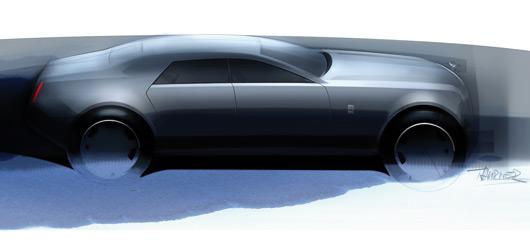 Rolls-Royce - RR4 design sketch