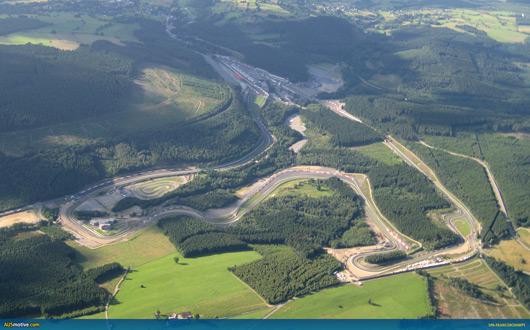 Spa-Francorchamps Grand Prix circuit